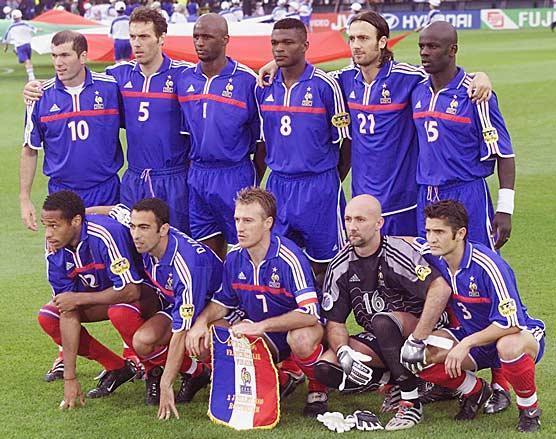 Echange et vente panini archive du blog carte equipe - Equipe de france coupe du monde 2002 ...